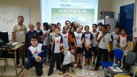Os alunos do 4º Ano do Ensino Fundamental Anos Iniciais do Colégio Arquidiocesano Unidade Cônego Paulo Dilascio receberam o coordenador […]
