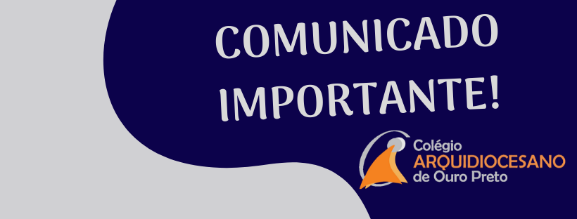 A partir do dia 02/06/2020, o REGIME ESPECIAL DE AULAS NÃO-PRESENCIAIS terá continuidade, em consonância com o Plano de Ações Pedagógicas na modalidade Remota. Até o dia 15/05/2020, cada professor(a) […]