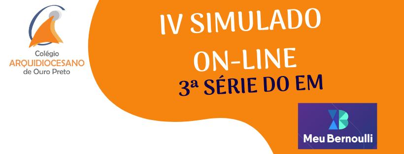 A aplicação dos Simulados propostos peloBernoulli Sistema de Ensino continuam. Você já está cadastrado(a) no Simulado Online, correspondente ao 5.º conjunto que ocorrerá nos dias 30/05 e 06/06/2020. A Equipe […]